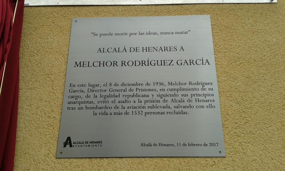 Melchor Rodríguez – Homenaje febrero 2017