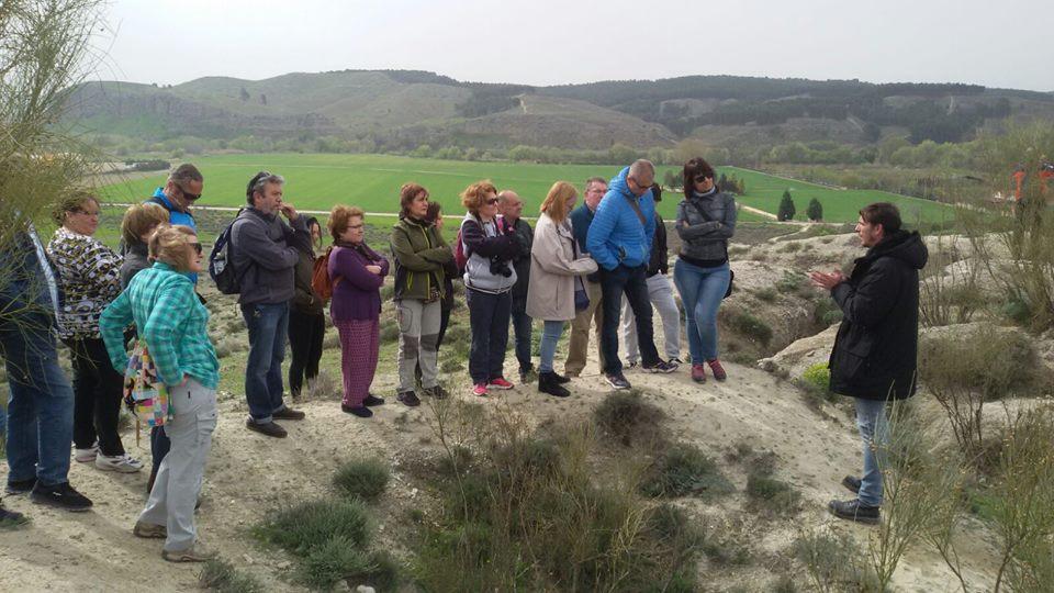 Visita al lugar donde tuvo lugar la Batalla del Járama